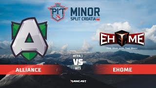 Alliance vs EHOME (карта 1), OGA Dota PIT Minor 2019,   Плей-офф