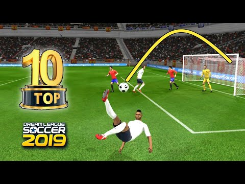 TOP 10 BEST GOALS OF TOP 5 INTERNATIONAL TEAM 🔥 DREAM LEAGUE SOCCER 2019 4K 60FPS