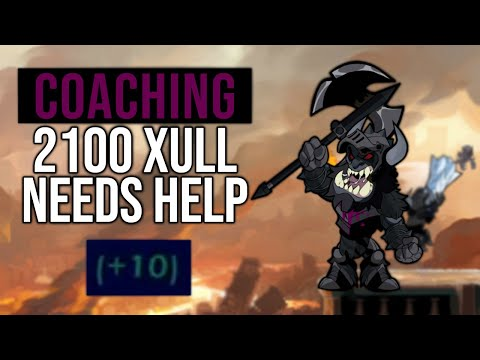 Brawlhalla | Helping a 2100 Xull Fix his mistakes.