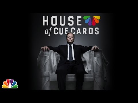 """House of Cue Cards"" (Part 1 of 2) – The Tonight Show Starring Jimmy Fallon"
