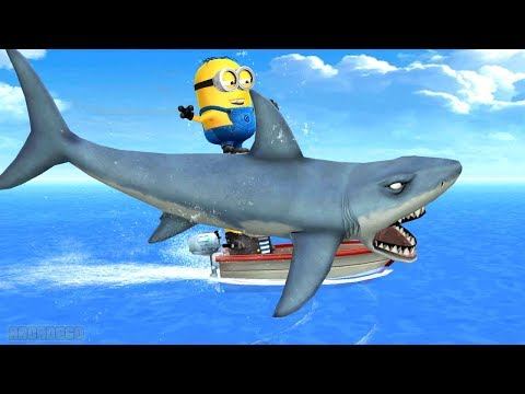 Despicable Me Minion Rush: Secret Of The Deep Sea | Best Minions Funny Moments