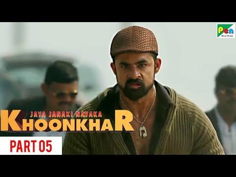 Jaya Janaki Nayaka KHOONKHAR   Part 5   Full Dubbed Movie   Bellamkonda Sreenivas, Rakul Preet Singh