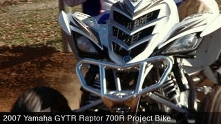 11. MotoUSA Project Bike:  2007 Yamaha GYTR Raptor 700R
