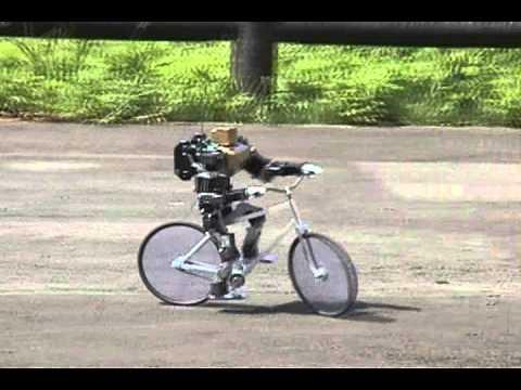 Robot en bici