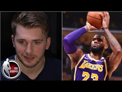 Video: Luka Dončić describes matchup vs. idol LeBron James as 'very special' | NBA on ESPN