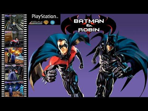 batman & robin playstation walkthrough
