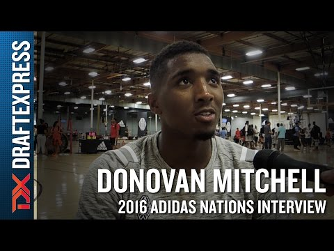 Donovan Mitchell Interview from 2016 Adidas Nations
