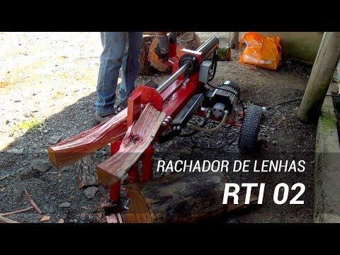 Rachador de lenha elétrico compacto RTI 02