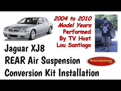 2004-2010 Jaguar XJ8 Rear Strut Conversion Installation