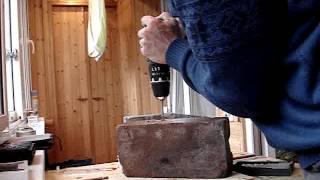 Видео 004 Тестирование дома кирпич