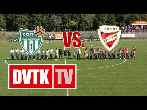 6. forduló: Érdi VSE - DVTK 0-1 (0-0)