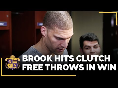 Video: Brook Lopez After His First Ever Jump Ball Win