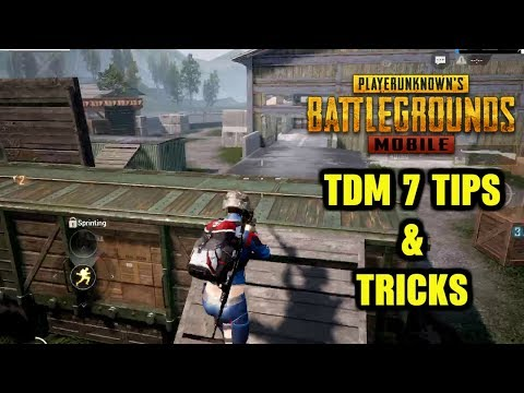 PUBG MOBILE TDM WAREHOUSE TOP 7 TIPS AND TRICKS | NOOB TO PRO GUIDE #1
