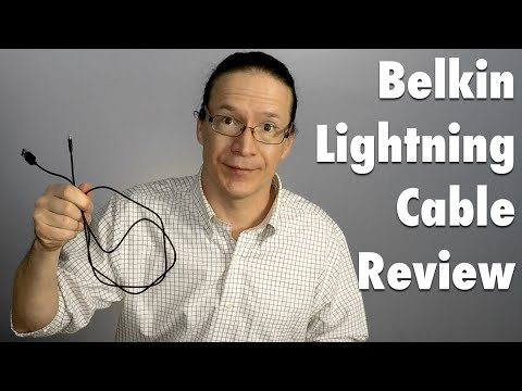 Review: Belkin Apple Lightning to USB Charge/Sync Cable