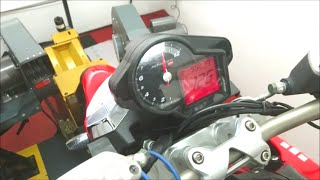 7. APRILIA SHIVER 750 TOP SPEED DYNO RUN