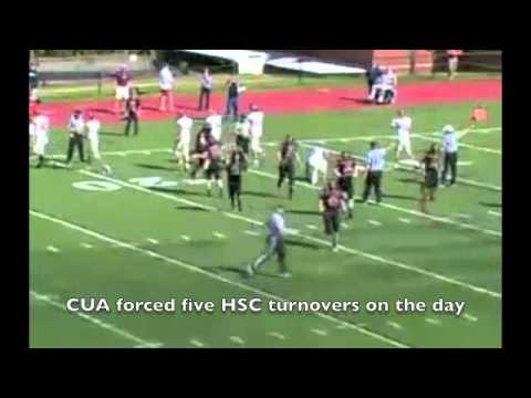 CUA football vs Hampden-Sydney, 9-29