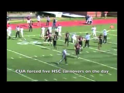 CUA football vs Hampden-Sydney, 9-29