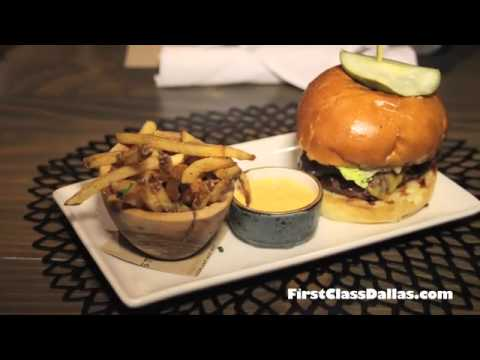 Cheeseburger and French Fries at Stock & Barrel