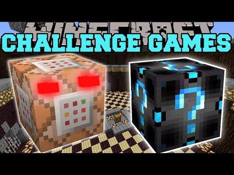 Minecraft: COMMAND BLOCK CHALLENGE GAMES - Lucky Block Mod - Modded Mini-Game (видео)