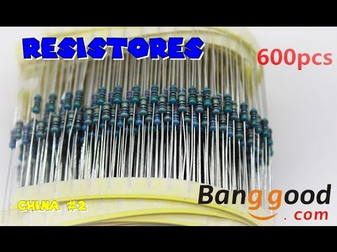 Resistores Bangood - BRASIL TONY VIDEOS