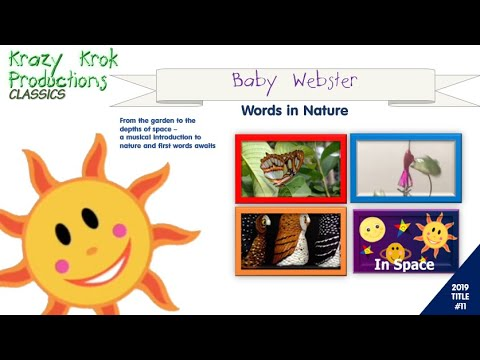 Baby Webster - Words In Nature