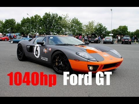 Heffnertwinturbo - Have you ever considered what it feels like to drive a 1040hp Ford GT, well now you almost get the chance. For the day, the owner had to put the pressure dow...