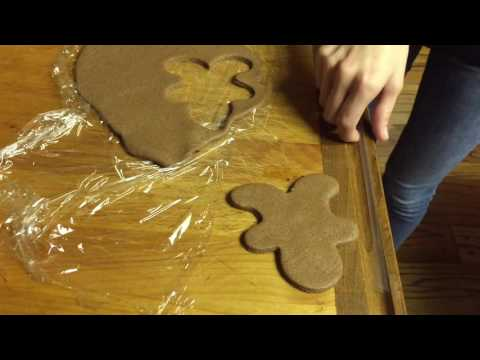 How To Make Gingerbread Man Ornament