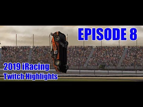 iRacing- 2019 Twitch Highlights (Fails, Wins and Funny Clips) | Episode 8