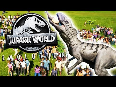 Carnivore Rampage Vs. A Human Zoo! - Jurassic World Evolution Gameplay