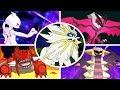 Download Lagu Pokémon Ultra Sun / Moon - All Legendary Pokémon + Signature Moves Mp3 Free
