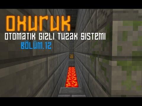 Minecraft Otomatik Ve Gizli Tuzak Sistemi