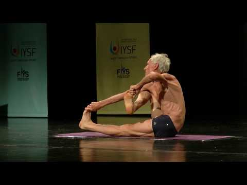 World Championship Of Yoga Sports 2016 - Senior Men – July 3rd  - Jean Claude Lafon 6th Place