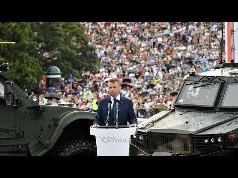 Wielka Defilada Niepodległości - wystąpienie ministra Mariusza Błaszczaka