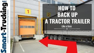 Video How to Back Up a Tractor Trailer (+ a Great Trucker Story) MP3, 3GP, MP4, WEBM, AVI, FLV Juni 2019