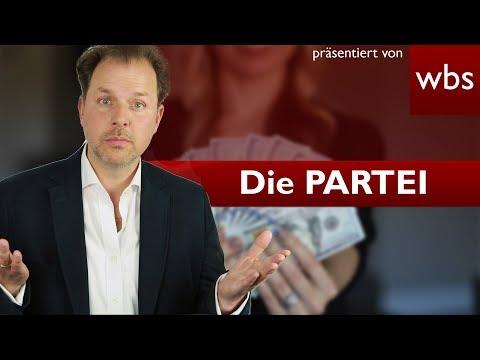 Die PARTEI vs. Bundestag - War der Geldtausch legal?