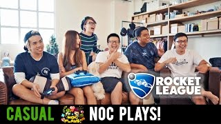 Video NOC Plays Rocket League! MP3, 3GP, MP4, WEBM, AVI, FLV November 2018