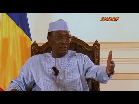 Revista Internacional: Presidente del Tchad que acusa a Francia de mantenerlo en el poder