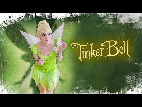 Tinker Bell Disney Makeup & Costume | Disfraz Campanilla + maquillaje | Déguisement fée clochette