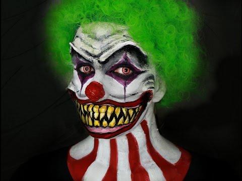 Maquillage Halloween - Clown terrifiant