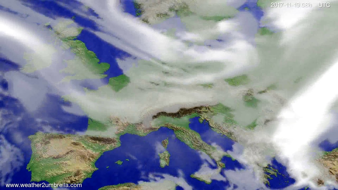 Cloud forecast Europe 2017-11-16