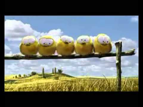 Pixar - Tennis Commercial