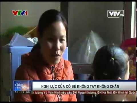 Phóng sự cô bé Nguyễn Linh Chi - Biểu tượng nghị lực Việt