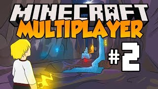 Minecraft Multiplayer Survival - Let's Play: Episode 2 - TOO MANY MOBS! (Part 2)