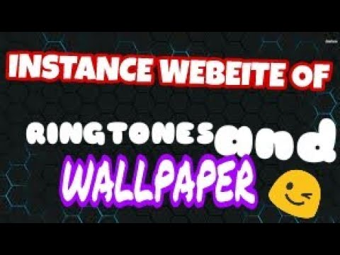 Instance Ringtone and Wallpaper website for free