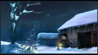 Tarjeta de Navidad para compartir. Silent Night