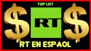 How much does RT en Espaol make on YouTube 2016