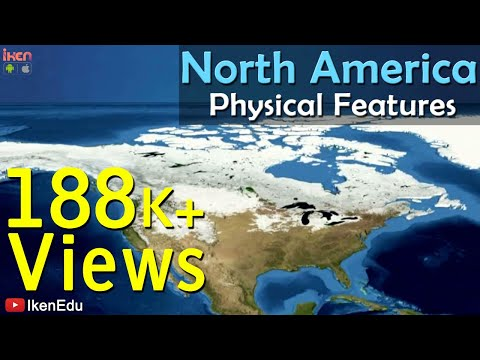 North America- Physical Features