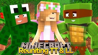 Minecraft - LITTLE KELLY REUNITES WITH LITTLE LIZARD & TINY TURTLE