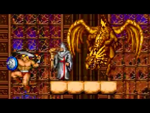 Magic Sword SNES Super Nintendo FAH