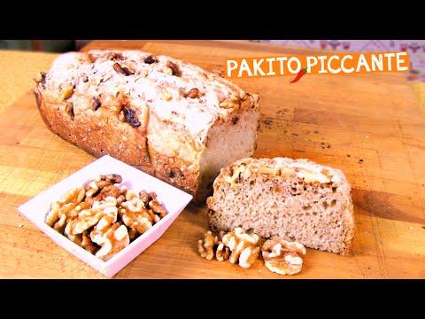 pane integrale con le noci - ricetta facile
